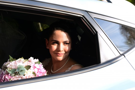 DSC 5488 550x366 Natalie & Jonathons Vintage Twist Dayboro Wedding