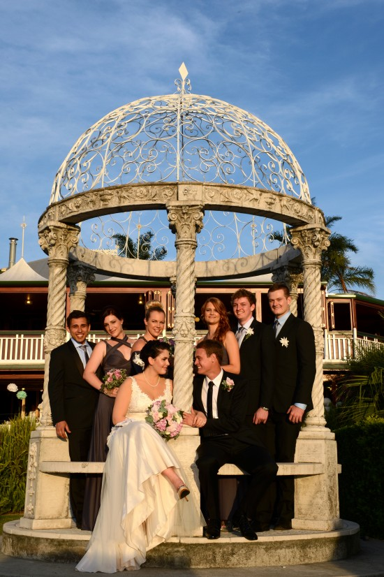 DSC 6069 550x826 Natalie & Jonathons Vintage Twist Dayboro Wedding