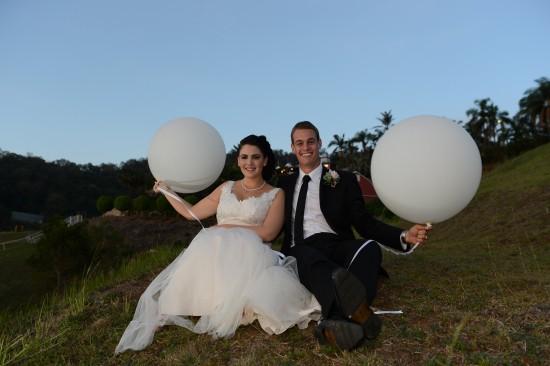 DSC 6268 550x366 Natalie & Jonathons Vintage Twist Dayboro Wedding