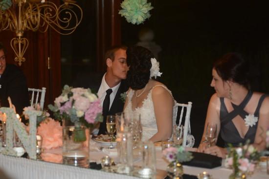 DSC 6640 550x366 Natalie & Jonathons Vintage Twist Dayboro Wedding