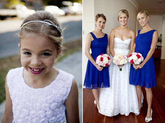 Royal Blue Brisbane River Wedding Holly and Zacs Elegant Rose Wedding On The River