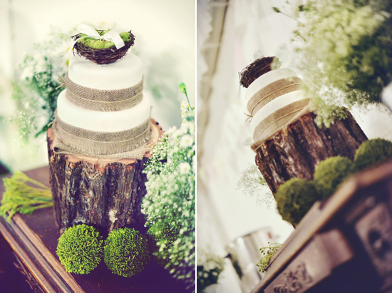 Rustic Wedding Cake Amy & Toms Rustic Country Wedding