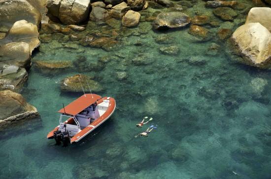 Snorkelling 2 550x365 Idyllic Island For Your Destination Wedding Or Dream Honeymoon