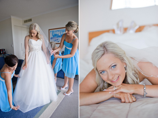 aqua sunshine coast wedding1 Brad & Jesss Aqua And White Sunshine Coast Wedding