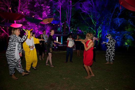 australian wedding festival62 Lisa & Lizis Colourful Wedding Festival