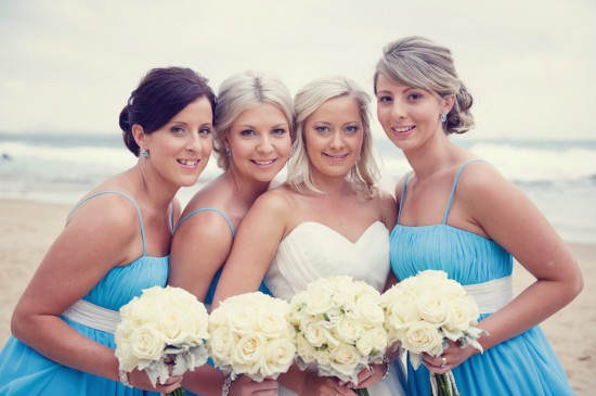 jessbrad288 550x365 Brad & Jesss Aqua And White Sunshine Coast Wedding