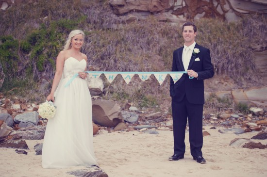 jessbrad390 550x365 Brad & Jesss Aqua And White Sunshine Coast Wedding