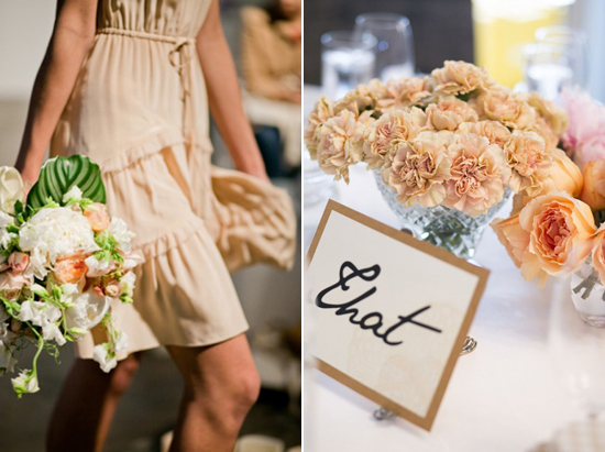 peach wedding flowers Floral Colour Inspiration ~ Peach
