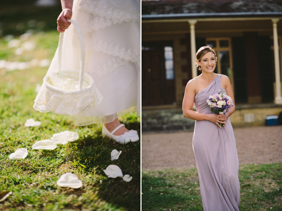 purple vintage wedding Rose and Joshs Rustic Spring Wedding