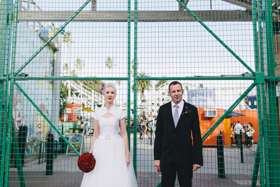 rock and roll st kilda wedding46 Juliette and Matts Rock And Roll St Kilda Wedding