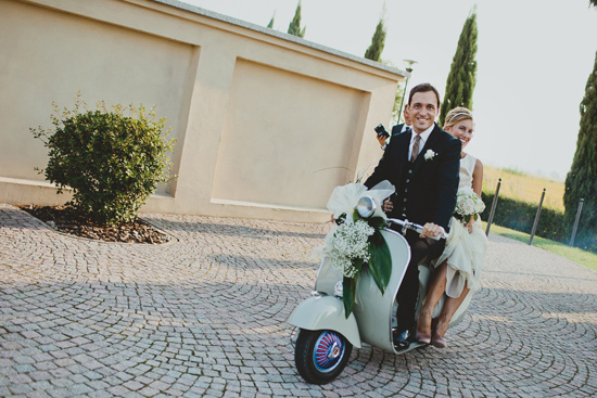 Australian Bride SCooter