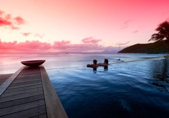 serenesunset3 550x383 Idyllic Island For Your Destination Wedding Or Dream Honeymoon