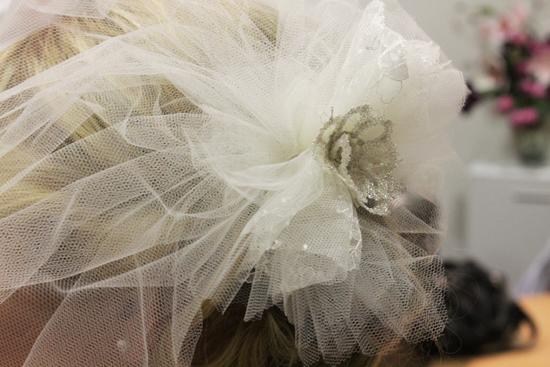 veil tutorial Couture Birdcage Veil Tutorial