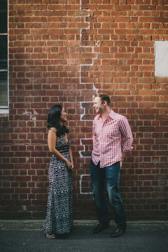 0Y3A7607 550x825 Desiree & Andrews Melbourne City Engagement Shoot