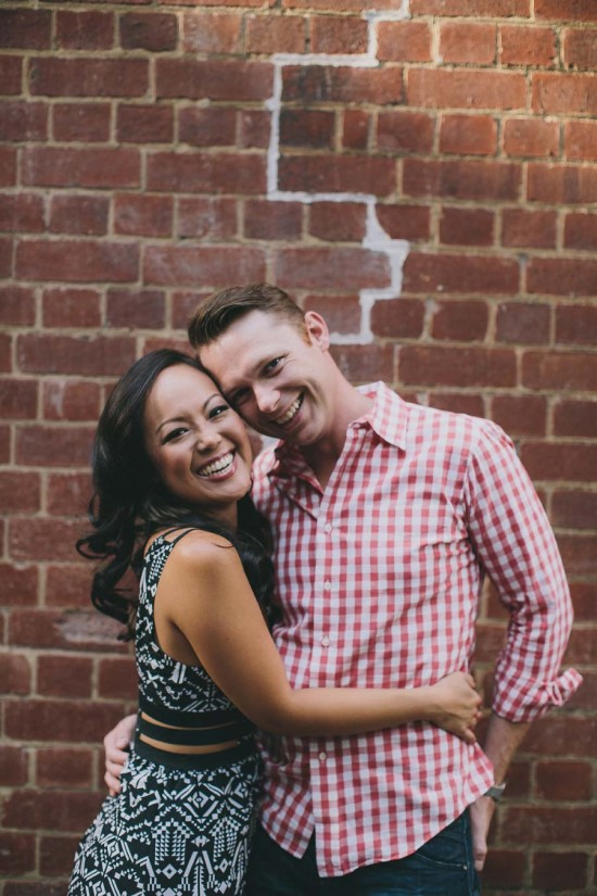 0Y3A7612 550x825 Desiree & Andrews Melbourne City Engagement Shoot