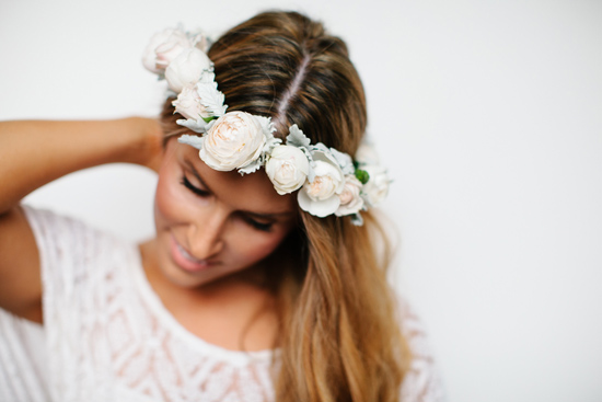 fresh flower hairpieces11 Summerblossom Fresh Floral Hairpieces