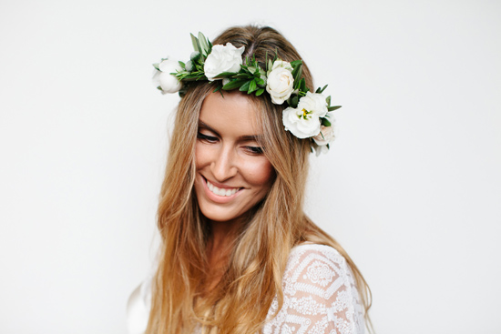 fresh flower hairpieces20 Summerblossom Fresh Floral Hairpieces