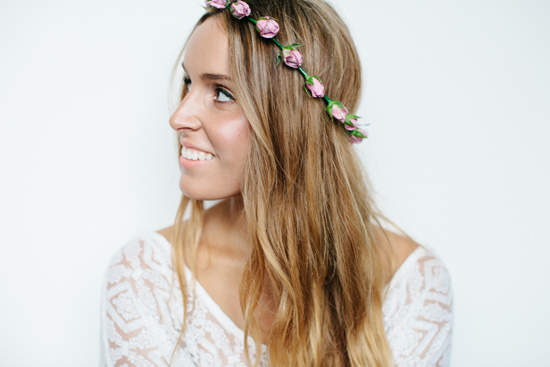 fresh flower hairpieces24 Summerblossom Fresh Floral Hairpieces