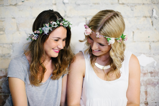 fresh flower hairpieces27 Summerblossom Fresh Floral Hairpieces