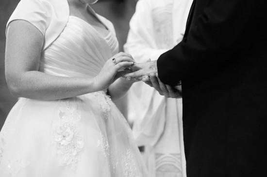 Retro polkadot wedding