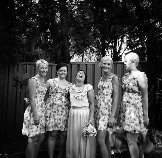 Australian Backyard Wedding