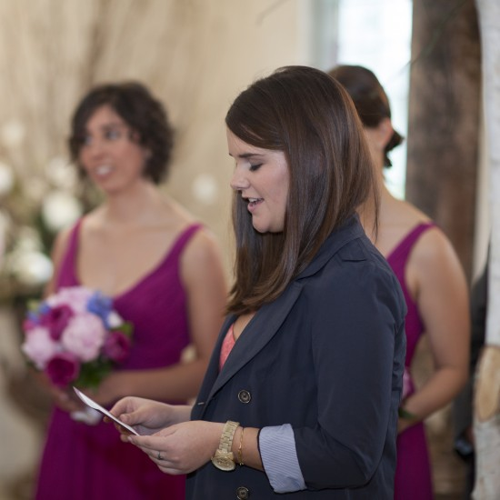 Ceremony reading 550x550 Five Tips for Letting Your Personality Shine Through At Your Wedding