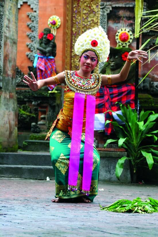 Creative Holidays - Bali_Balanese Dancer