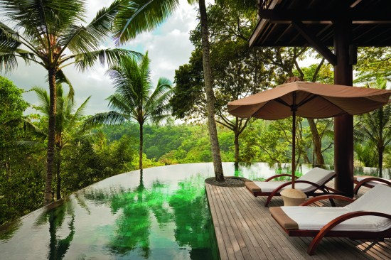 Creative Holidays Ubud Como Shambala Terrace 550x366 The Polka Dot Travel Lounge Deana from Creative Holidays