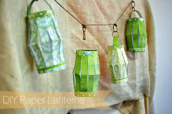 DIY Paper Lanterns Wedding Project1 550x365 DIY Paper Lanterns Tutorial