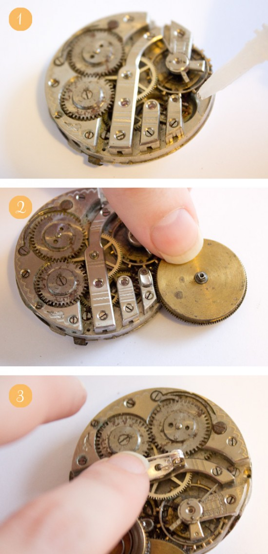 Steampunk groom buttonhole tutorial