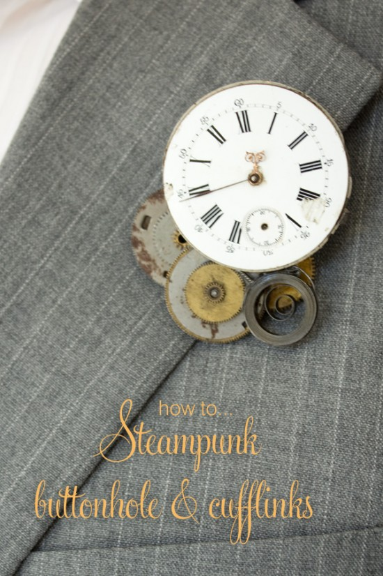 Steampunk groom title
