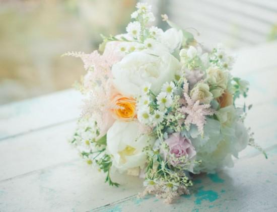 pastel romantic bouquet
