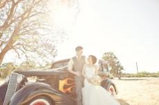 Muscle Car Wedding Transport