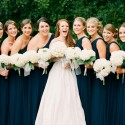navy bridesmaid inspiration