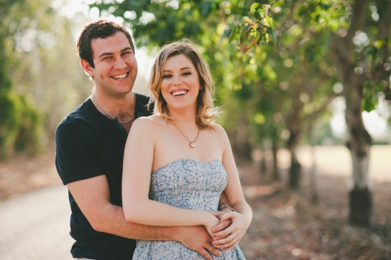 CT012 550x365 Cassie and Trents Classic 1950s Engagement Shoot