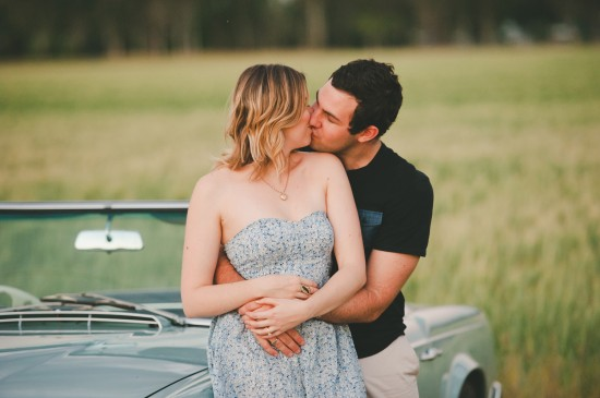 CT091 550x365 Cassie and Trents Classic 1950s Engagement Shoot
