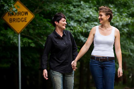 Martinsville Garden Engagement Photos01 Shaye and Cara Martinsville Garden Engagement Photos