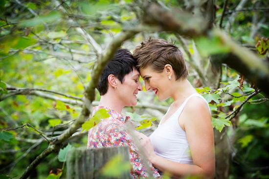 Martinsville Garden Engagement Photos13 Shaye and Cara Martinsville Garden Engagement Photos