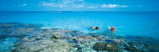 Snorkelling at Coral Cay