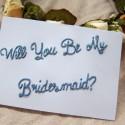 bridesmaid card tutorial