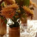 ombre metallic vases