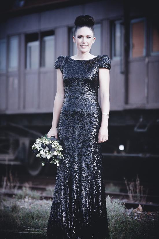 sequin wedding dress01 Sequin Wedding Gowns