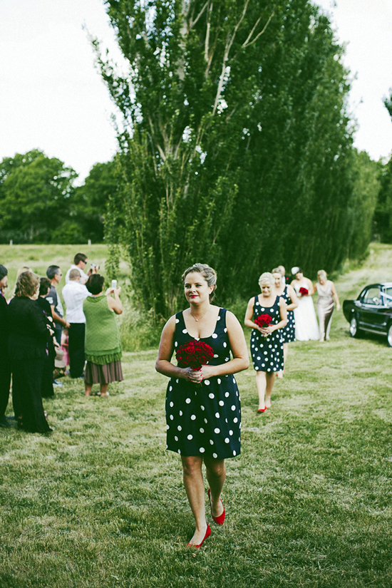 Blue and Red Polka Dot Wedding1389 Jolly & Scotts Polka Dot Lake George Winery Wedding