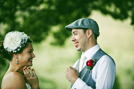 Blue and Red Polka Dot Wedding1392 Jolly & Scotts Polka Dot Lake George Winery Wedding