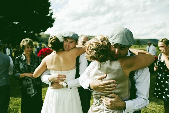 Blue and Red Polka Dot Wedding1395 Jolly & Scotts Polka Dot Lake George Winery Wedding