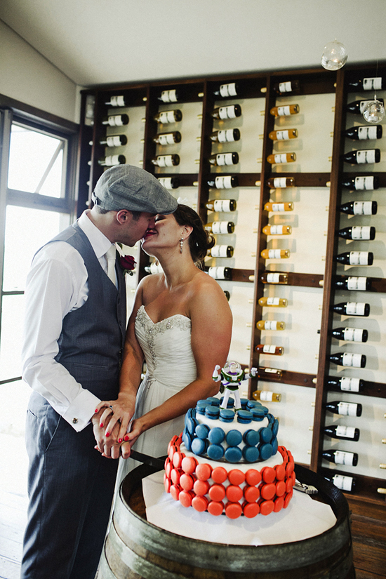 Blue and Red Polka Dot Wedding1408 Jolly & Scotts Polka Dot Lake George Winery Wedding