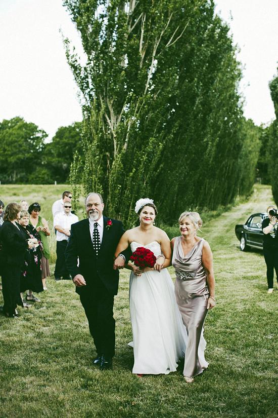 Blue and Red Polka Dot Wedding1414 Jolly & Scotts Polka Dot Lake George Winery Wedding