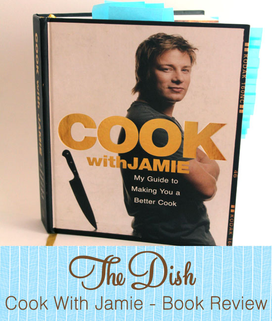 Jamie Oliver The Dish with Mr Herringbone Cook with Jamie Book Review
