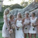 bridesmaids-in-mismatched-gowns