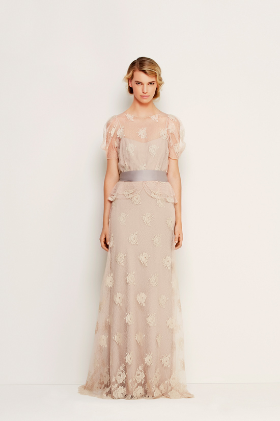 max mara wedding gowns02 Max Mara Bridal Fall Winter 2013/14 Collection